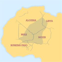 Area Tuareg