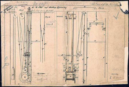 Patente de Otis de 1861