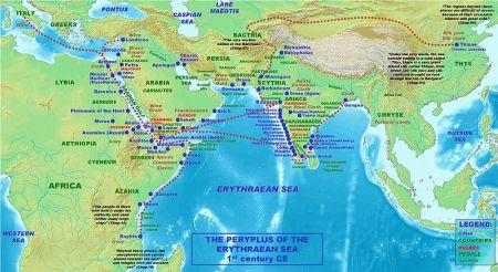 El Índico según el Periplo de la Mar Eritrea (I d.C-III d.C)