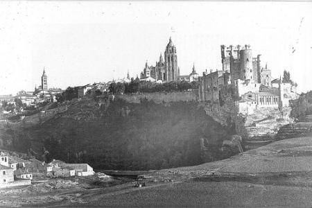 Alcázar de Segovia en 1871