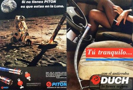 ¡¡ Cuidado con la moto en la luna !!...