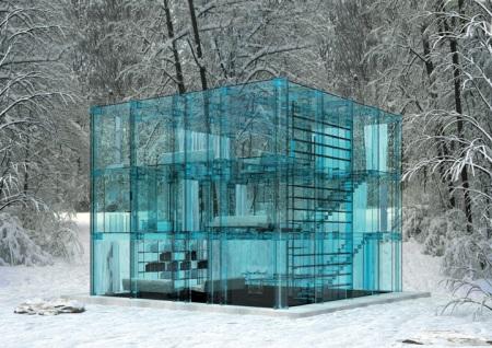 La casa del futuro.