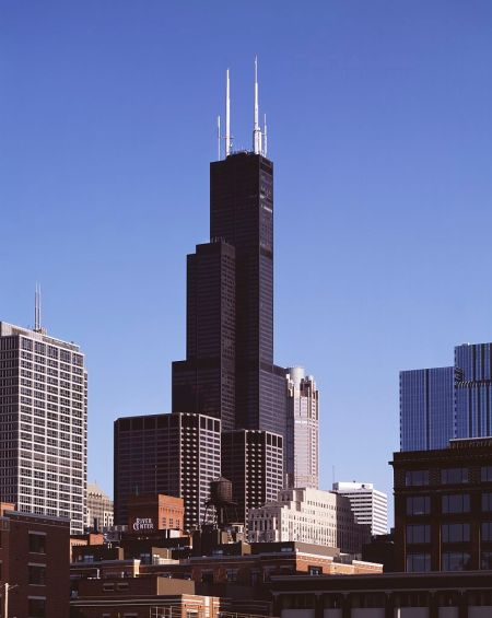 Chicago's Sears Tower, hoy Willis.