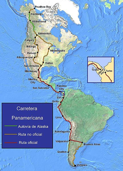 Carretera Panamericana.