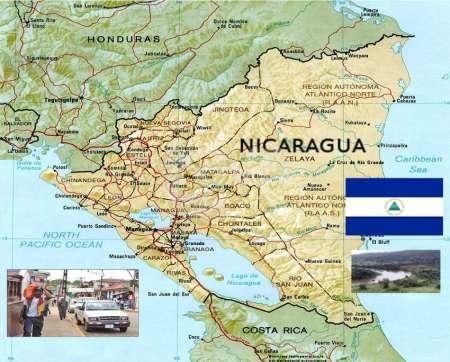 Nicaragua Físico