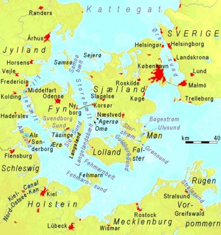 Estrechos del Báltico