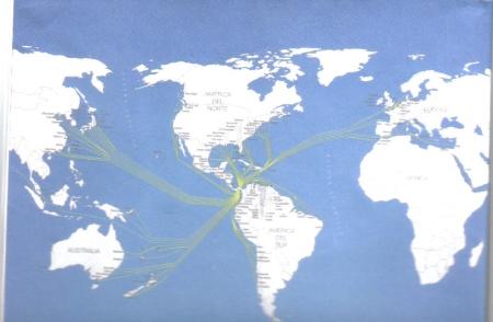 El Canal de Panamá tiende sus redes.