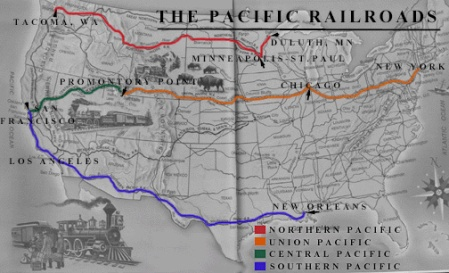 Transcontinental-US-Railroads
