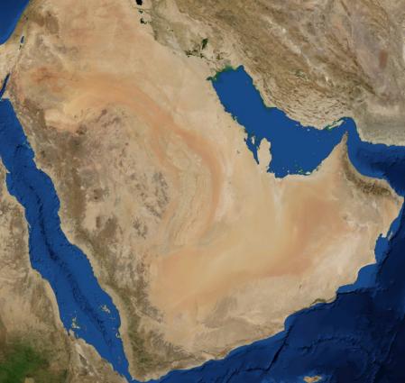 Arabia satélite