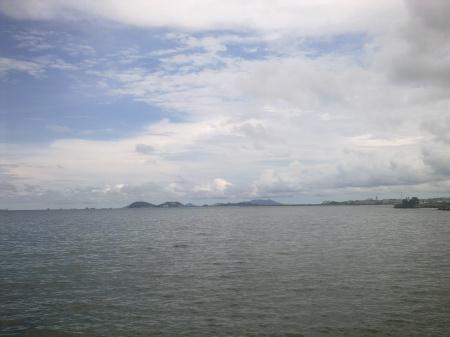 Bahía de Panamá: mirando al Pacífico.