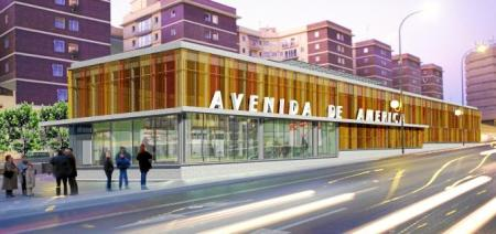 Avenida de América estación