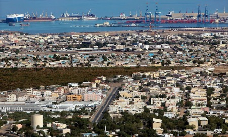 Djibouti city and port