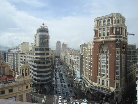 Plaza  de España Gran Via