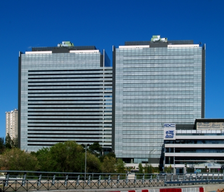 Western-facade,Torre-Ágora,-Madrid