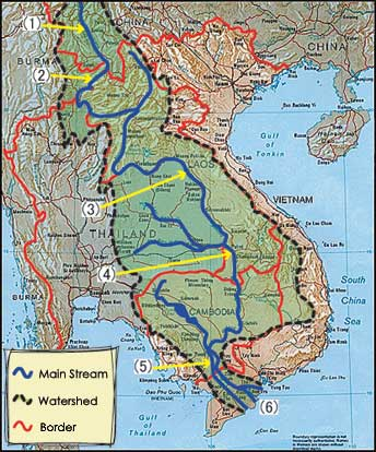 Mekong watershed