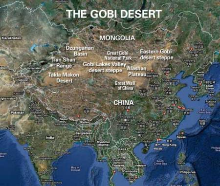 Gobi-map