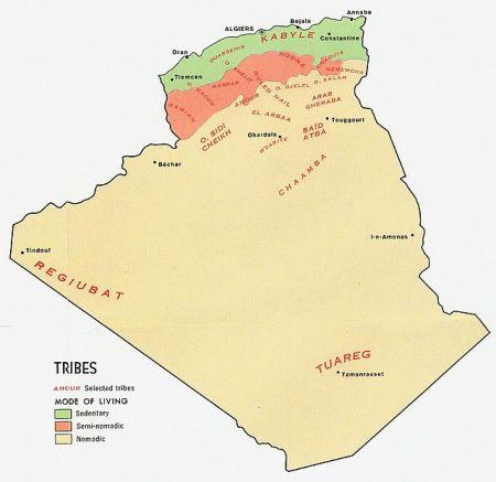 Algeria_tribes