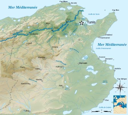 Medjerda_river_drainage_basin-fr.svg