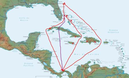 mapa-caribe-fisico (2) canal via cuab