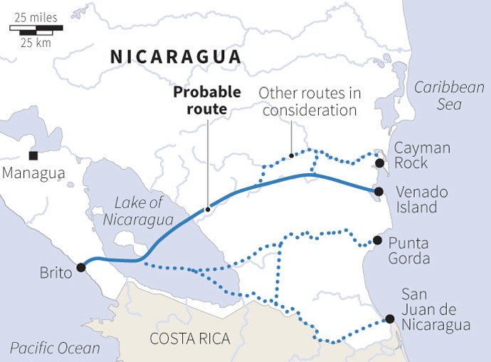 an analysis of the nicaraguas canal and the history of panama canal Nicaragua canal project (2014  and the limitations of the panama canal,  initial findings of the commercial analysis conducted by hknd group indicate that the.