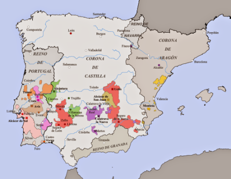 ordenes militres mapa2