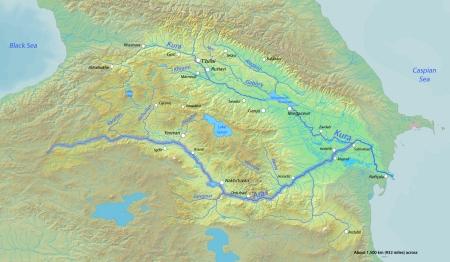 Arasrivermap