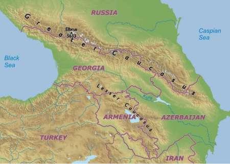 caucasus-map