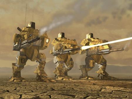 Robots-guerra