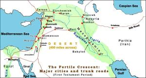 fertile-crescent-and-megiddo