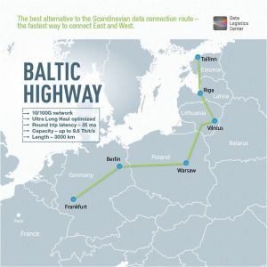 Baltic Highway, the Fastest Data Connection Network Between Eastern and Western Europe, is Officially Launched
