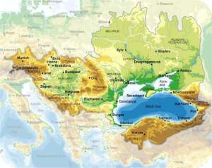 Black Sea Basin Map