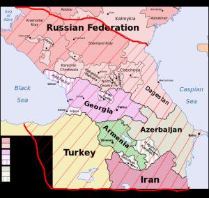 Caucasia politico