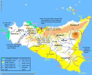 Colonias griegas en Sicilia