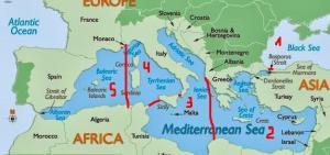 Los cinco mediterráneos