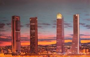 rascacielos-de-madrid-cuatro-torres-puesta-de-sol-ana-gulias-velazquez