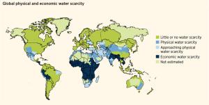 WaterStress map