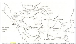 ancient asian trade routes