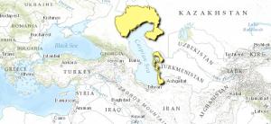 Caspian lowland desert