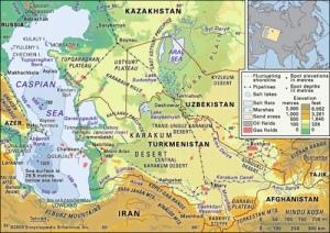 desiertos del turquestán ruso