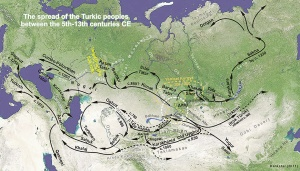 dispersión turcos