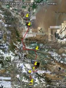 leh-yarkand-caravan-route