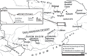 Map-of-the-Tarim-basin