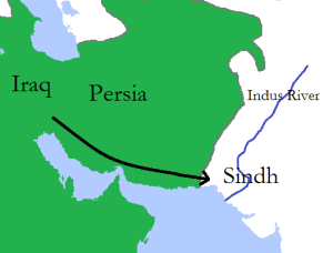 Muhammad_bin_Qasim's_expedition_into_Sindh