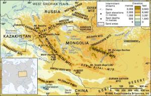 oeste de mongolia