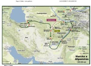 Ruta de Alejandro en Afganistán 1