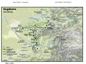 Ruta de Alejandro en Afganistán 2