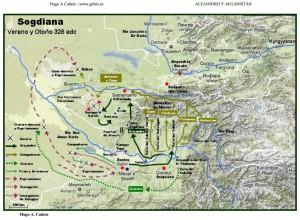 Rutas de Alejandro en Afganistán 3