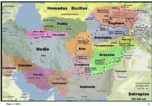 satrapias aquemenidas en Asia Central