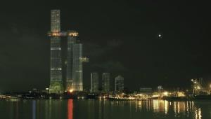 Colombo, Sri Lanka, nodo emergente, en construcción.