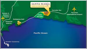 santamaria-location-map